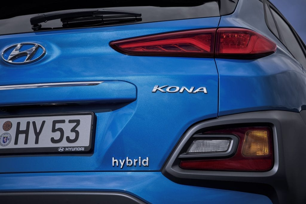 Véhicule Hybride Kona by Hyundai